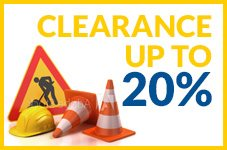 Clearance up to 20%